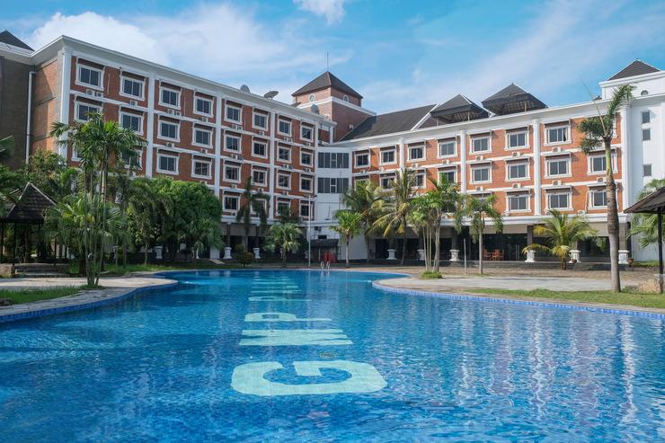Grand Mangku Putra Hotel Cilegon - Exterior Hotel Grang Mangku Putra