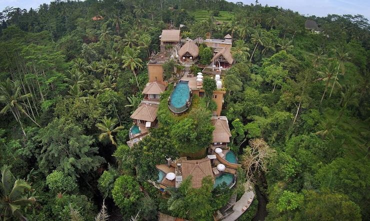 The Kayon Resort Bali - area hotel