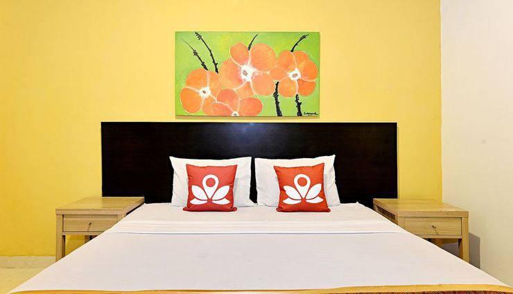 ZenRooms Extension Taman Siswa Yogyakarta - Tampak tempat tidur double