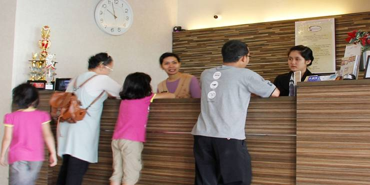 Novilla Boutique Resort Bangka - Resepsionis