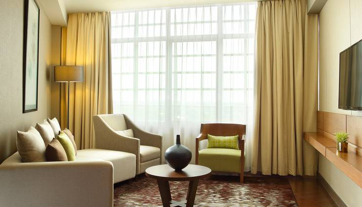 Hotel Santika Premiere ICE BSD City - Executive Suite ( Living Room )