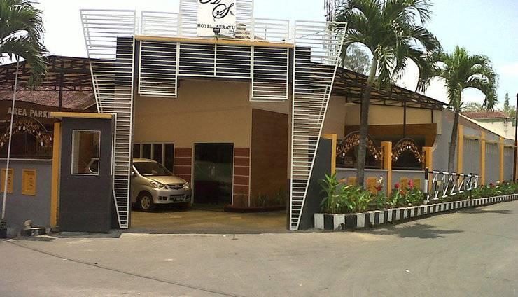 Hotel Serayu Malang - depan