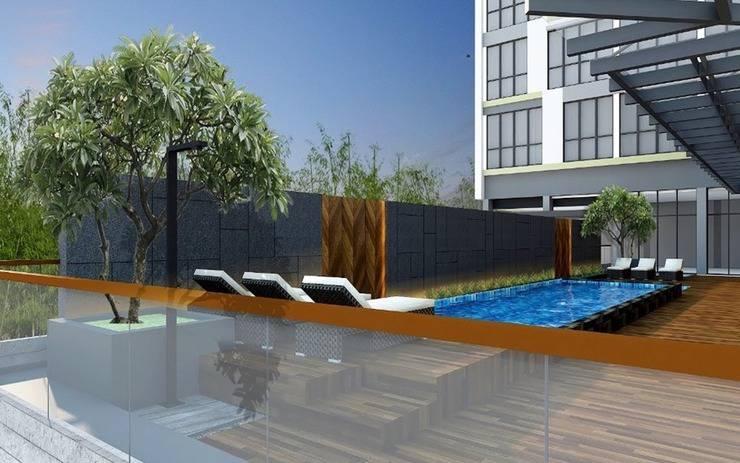 Hotel Santika Sukabumi Sukabumi - Pool