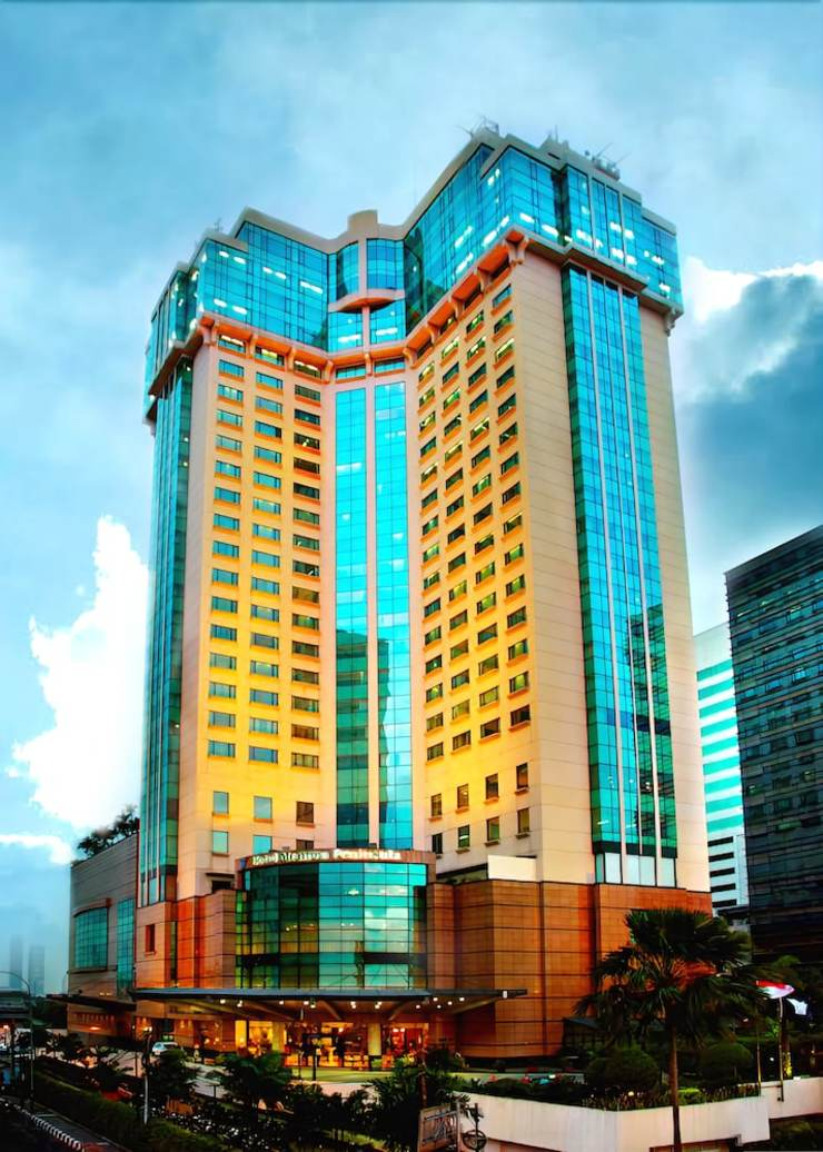 Hotel Menara Peninsula Jakarta - Aerial View
