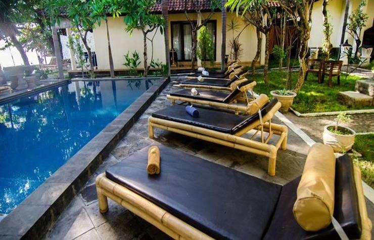 Alamat Rising Star Beach Resort Amed - Bali