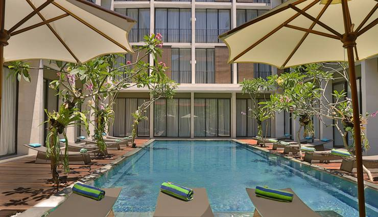 Hotel Terrace at  Kuta - Kolam Renang