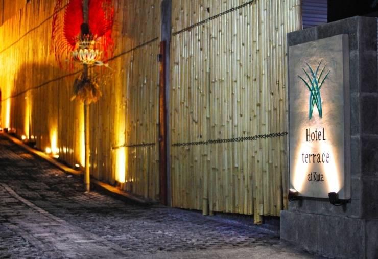Hotel Terrace at  Kuta - Entrance