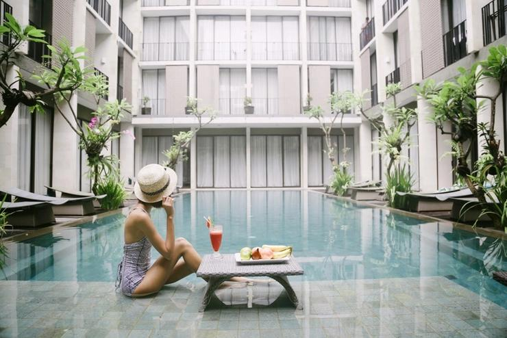 Hotel Terrace at  Kuta - Swimming Pool