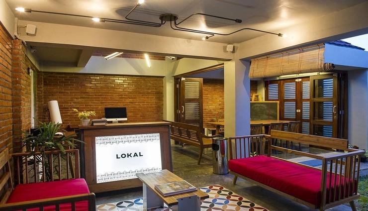 Lokal Hotel & Restaurant Jogjakarta Yogyakarta - Lobby