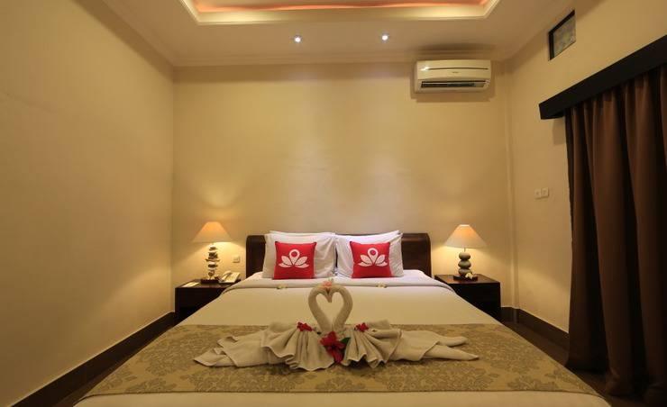 ZenRooms Ubud Bisma 3 - Tampak tempat tidur double