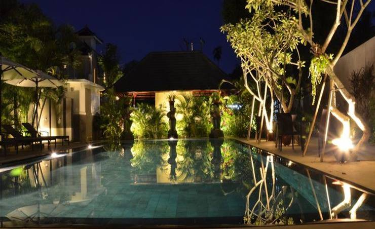 New Pondok Sara Villas Bali - Eksterior