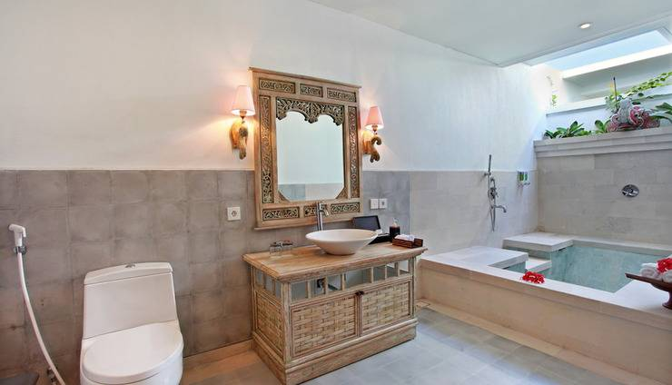 New Pondok Sara Villas Bali - Bathroom