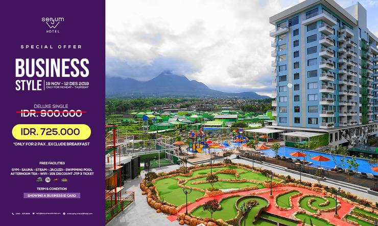 Senyum World Hotel Malang - Business style Room Only