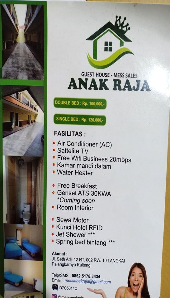 Guesthouse ANAK RAJA Palangka Raya - other