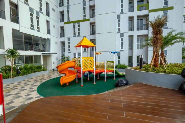 Simply Studio Akasa Pure Living BSD Apartment By Travelio Tangerang Selatan - Taman bermain anak