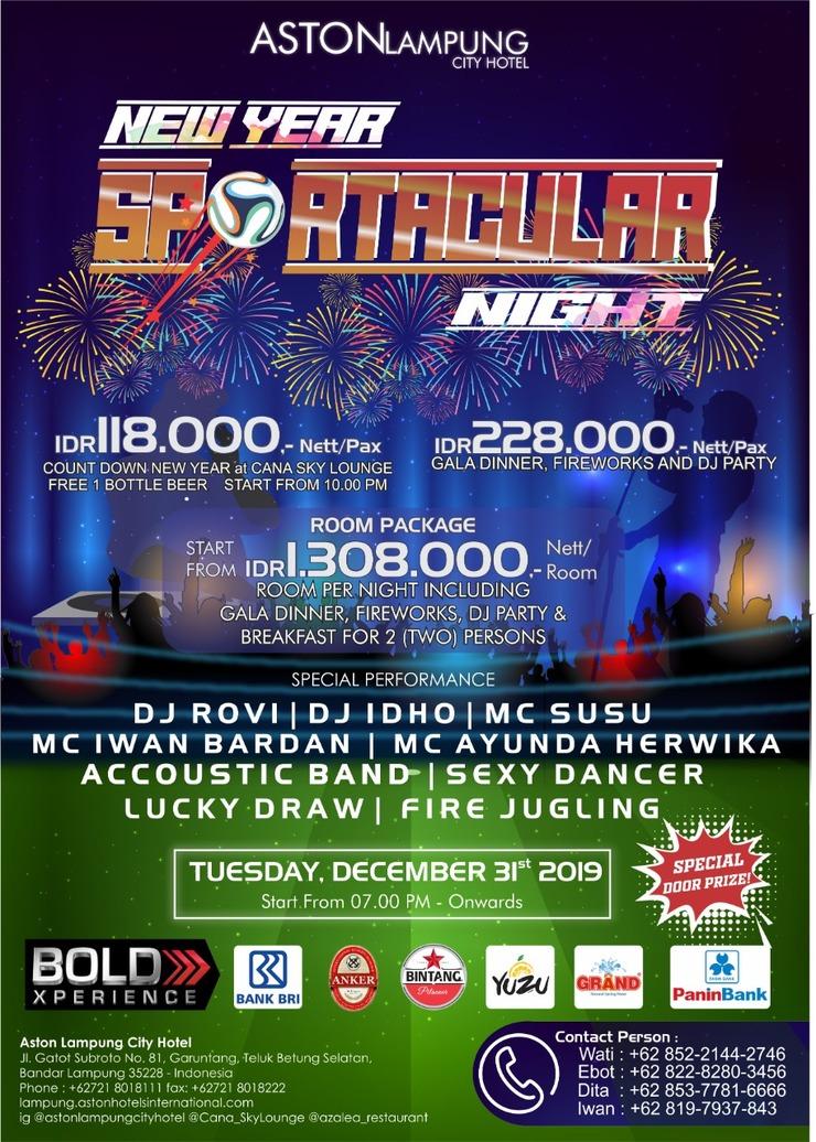Aston Lampung City Hotel Bandar Lampung - New Years