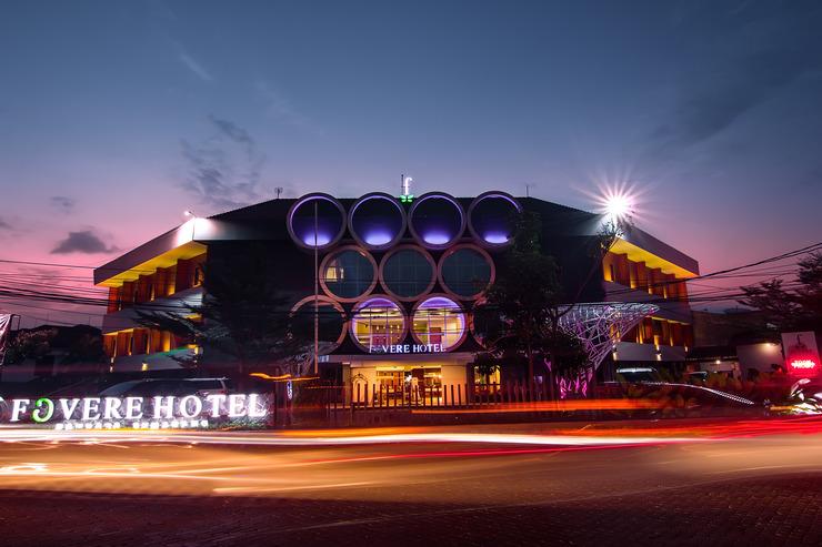 Hotel Fovere Bandara Semarang by Conary Semarang - Facade