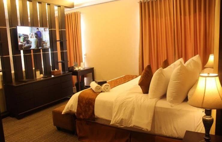 Royal Suite Hotel Balikpapan - Kamar tidur