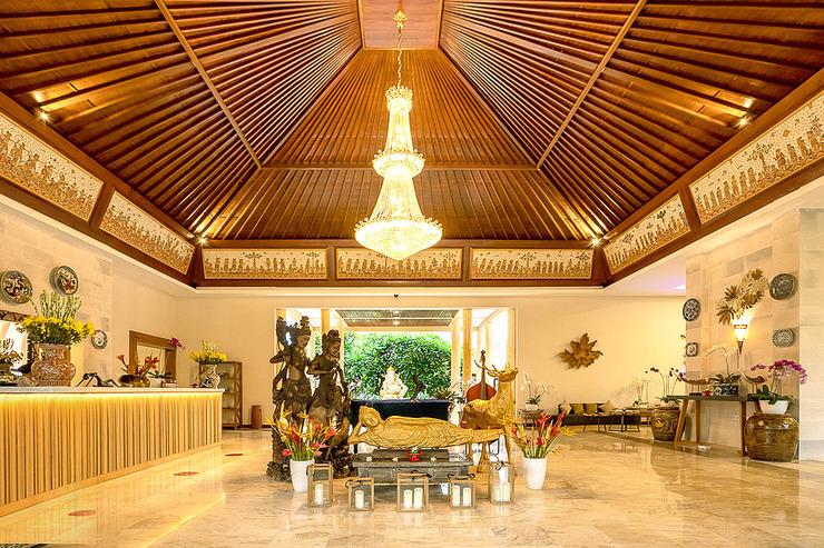 Kutus Kutus Sunari Beach Resort Lovina - Lobi