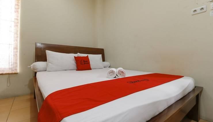 RedDoorz @Kwitang Jakarta - Kamar Tidur