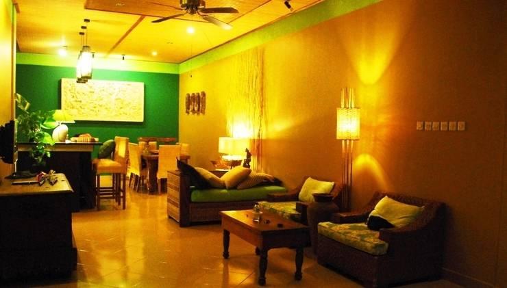 Green Chaka Villa Bali - Ruang Tamu