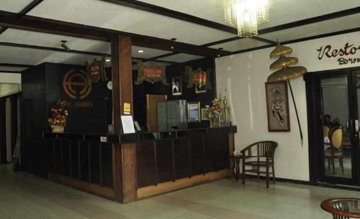 Hotel Andhika Syariah Samarinda - Resepsionis
