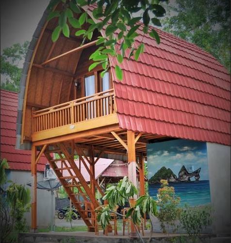 Kubu Sental Cottages Nusa Penida Bali - Facade