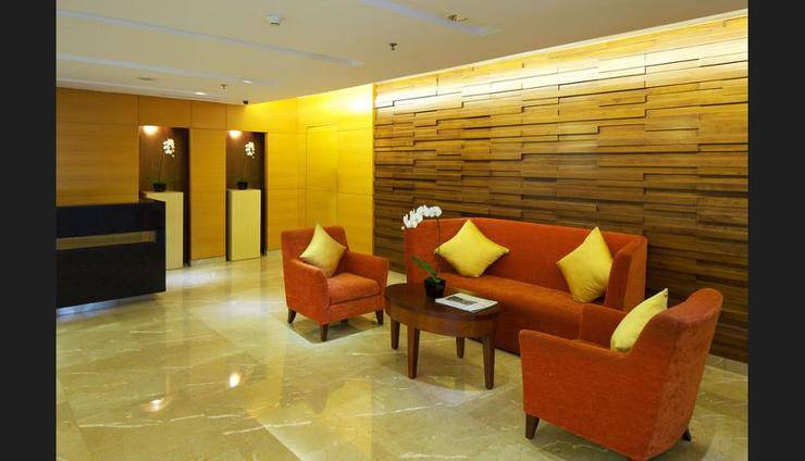 Marriott Executive Apartments Mayflower Setiabudi - Lobby Sitting Area