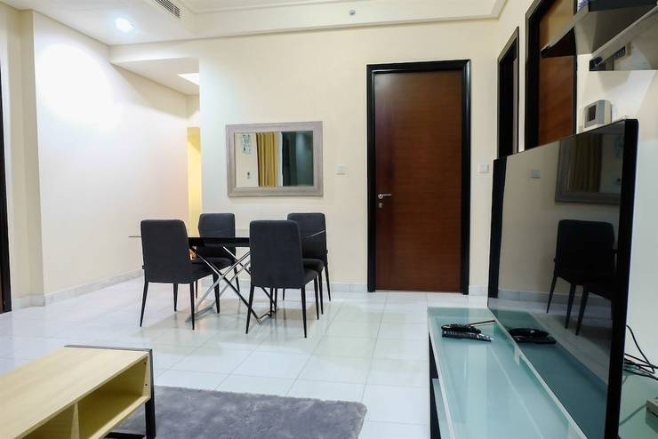 2 Bedroom Luxury The Peak Apartment By Travelio Bandung - In-Room Dining