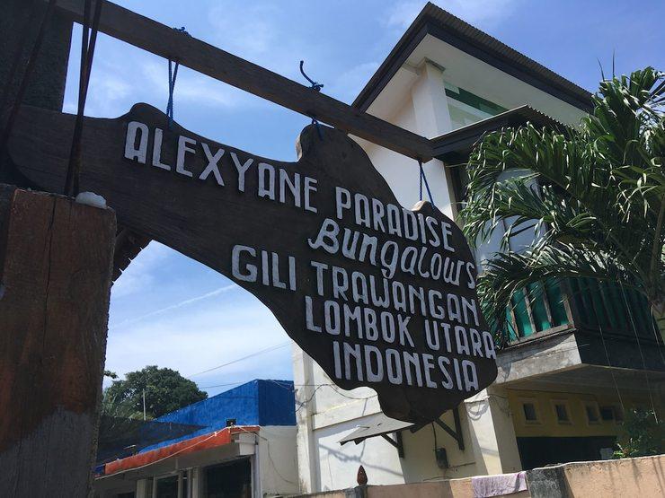 Alexyane Paradise Bungalow Lombok - Featured Image