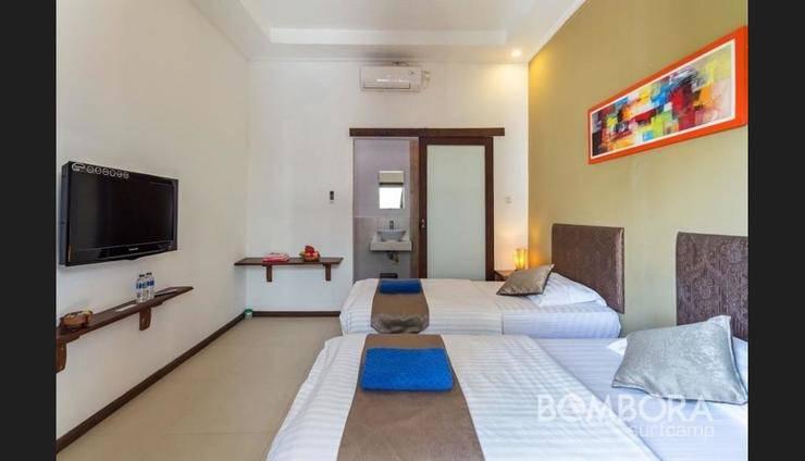 Bombora Surf Camp Bali - Guestroom