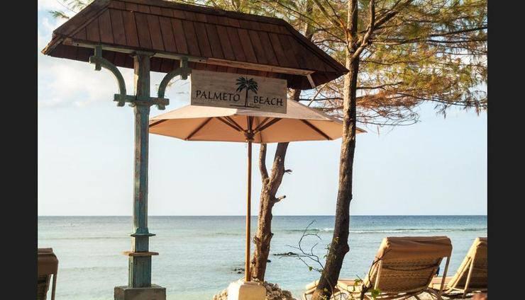 Palmeto Village Lombok - Beach