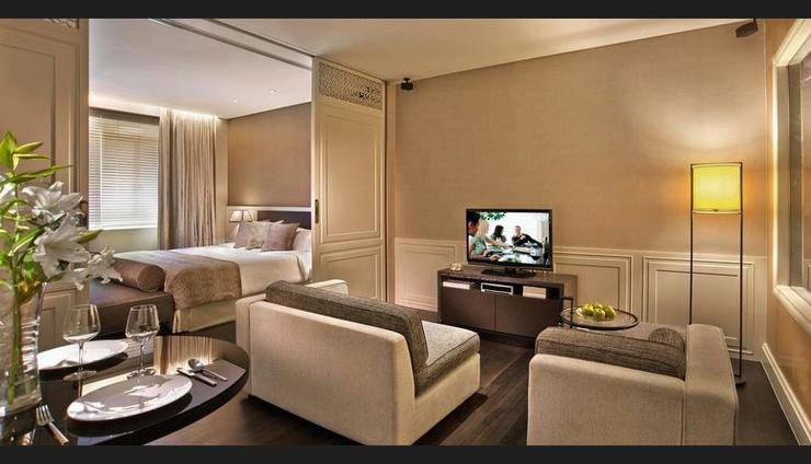 Ascott Raffles Place Singapore - Living Room