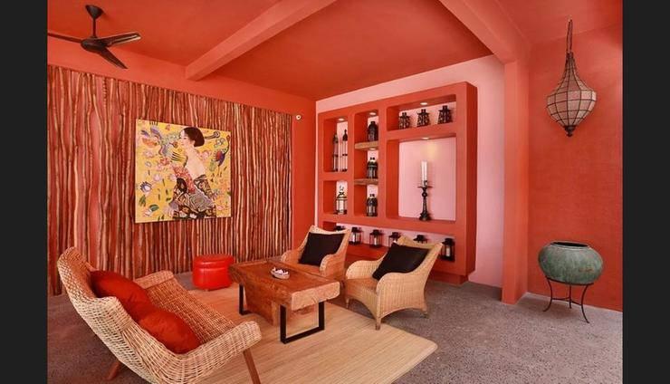 PinkCoco Gili Trawangan Lombok - Lobby Sitting Area