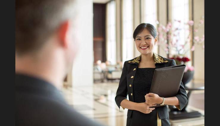 Fairmont Hotel Jakarta - Lobby