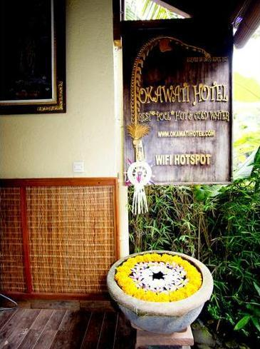 Okawati Hotel Ubud - Hotel Entrance