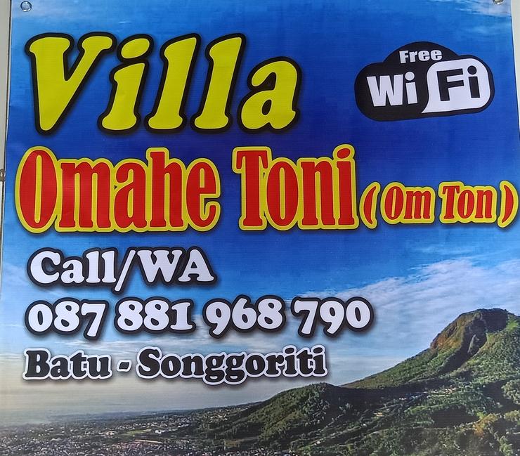Villa Omahe Toni Malang - Reservasi