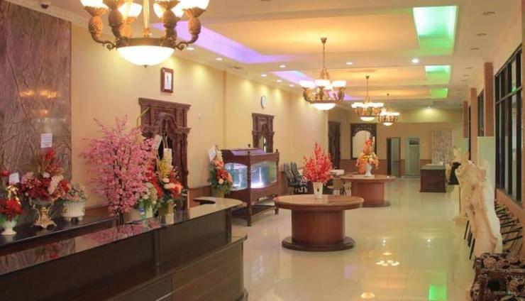 Imelda Hotel Padang - Koridor Ruang Meeting