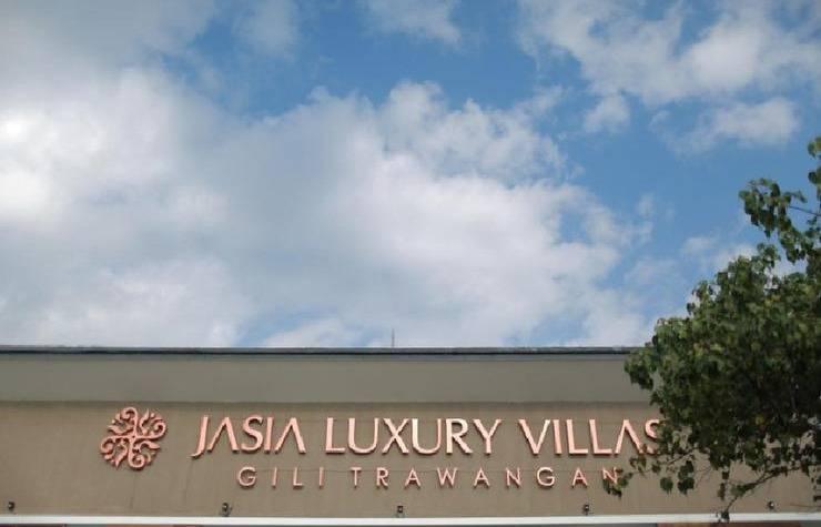 Jasia Gili Luxury Villas Resort Gili Trawangan - pandangan depan