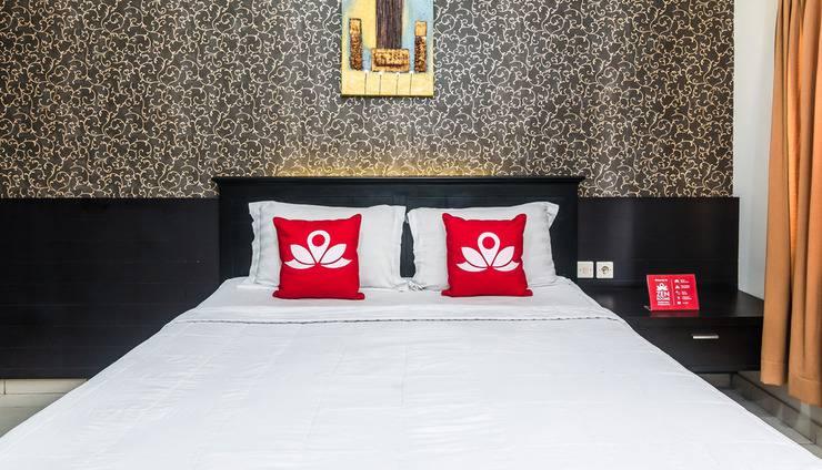 ZenRooms Legian Nakula 2 - Tampak tempat tidur double