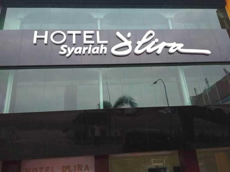 D Lira Syariah Hotel Pekanbaru - arah depan