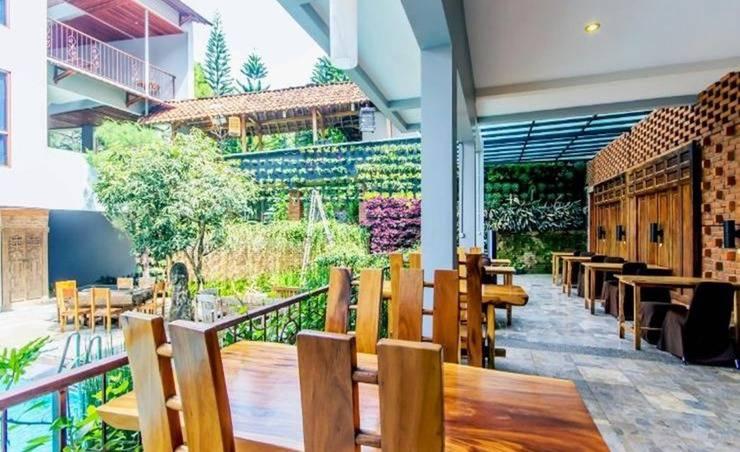 Lotus Art Garden Hotel Bandung - Eksterior