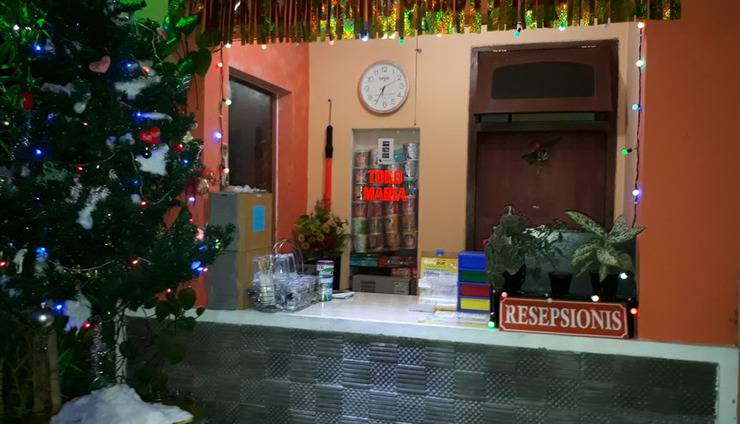 Villa Panderman Indah Malang - resepsionis