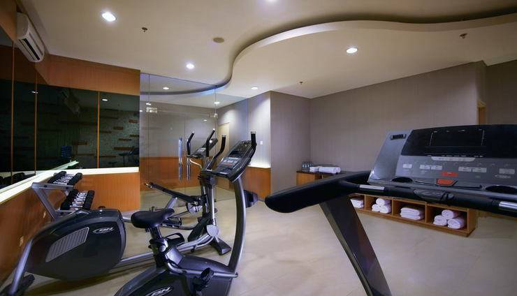 BW Suite Belitung - gym