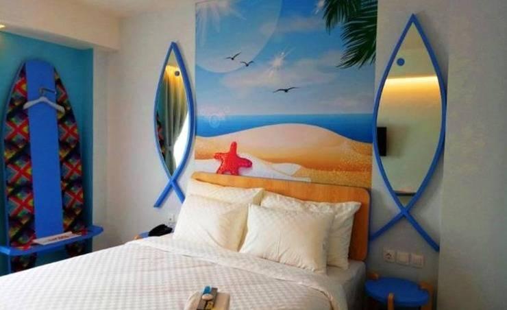Uniq Hotel Jogja - Kamar tidur