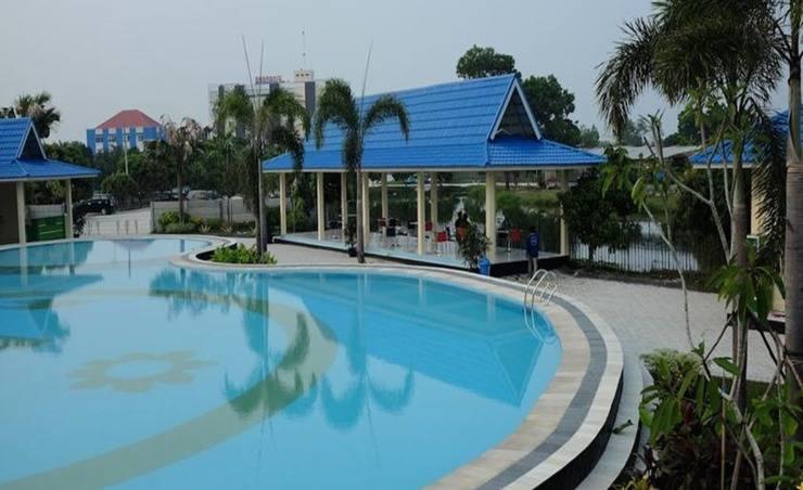 Kampung Wisata Tiga Dara Hotel & Resort Pekanbaru - Kolam Renang