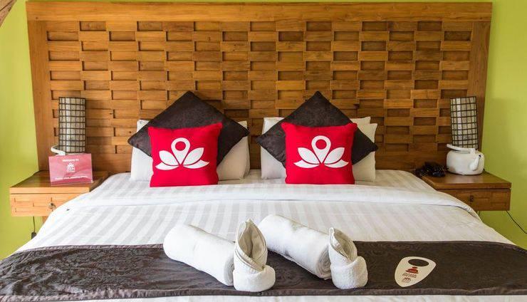 ZenRooms Uluwatu Hidden Pecatu - Tampak tempat tidur double