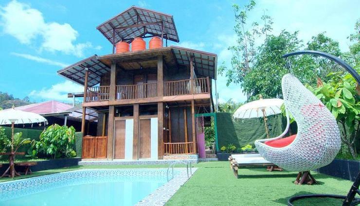 Lorent La Villa Padang - bangunan