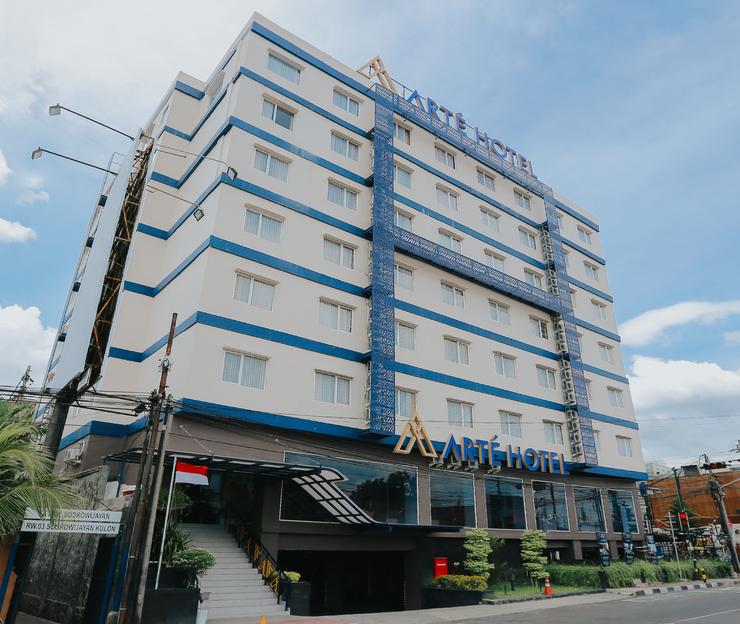 Arte Hotel Malioboro Yogyakarta Jogja - Building