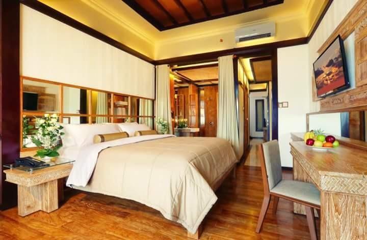 Paditeras Boutique Hotel Seminyak Bali - kamar tidur